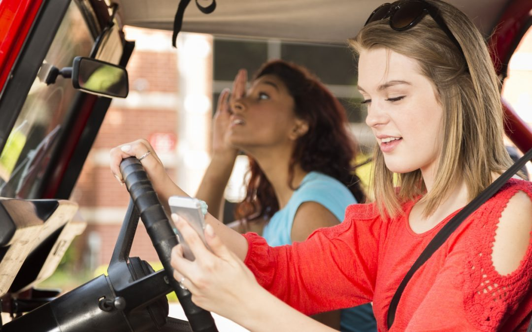 Reduce Distracted Driving By Teens