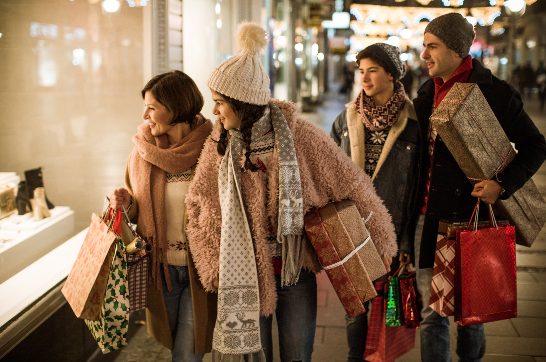 How to Avoid Common Holiday Shopping Injuries